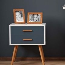 DIY up-cycling project: How to make your own bedside tables