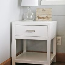 Bedside Table Projects 52 214x214 - DIY up-cycling project: How to make your own bedside tables