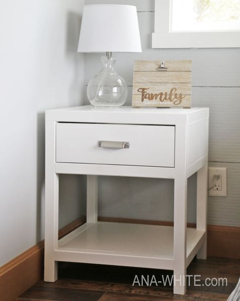 Bedside Table Projects 52 - DIY up-cycling project: How to make your own bedside tables