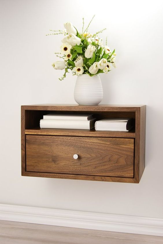 Bedside Table Projects 53 - DIY up-cycling project: How to make your own bedside tables