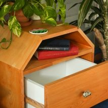 Bedside Table Projects 58 214x214 - DIY up-cycling project: How to make your own bedside tables