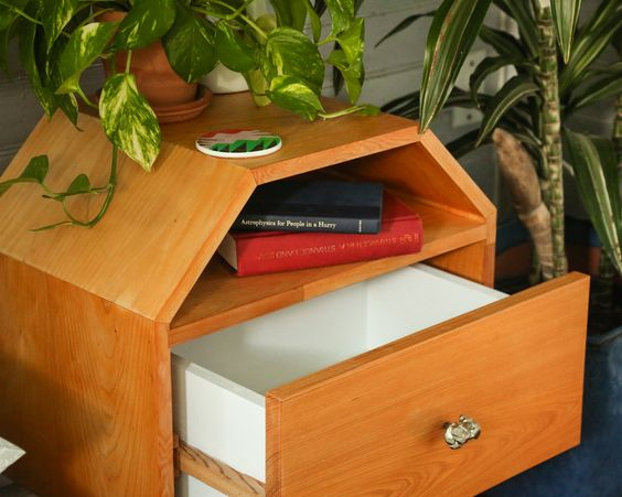 Bedside Table Projects 58 - DIY up-cycling project: How to make your own bedside tables