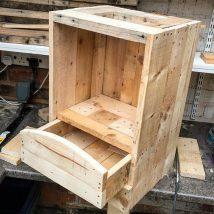 Bedside Table Projects 62 214x214 - DIY up-cycling project: How to make your own bedside tables