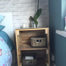 Bedside Table Projects 63 214x214 - DIY up-cycling project: How to make your own bedside tables