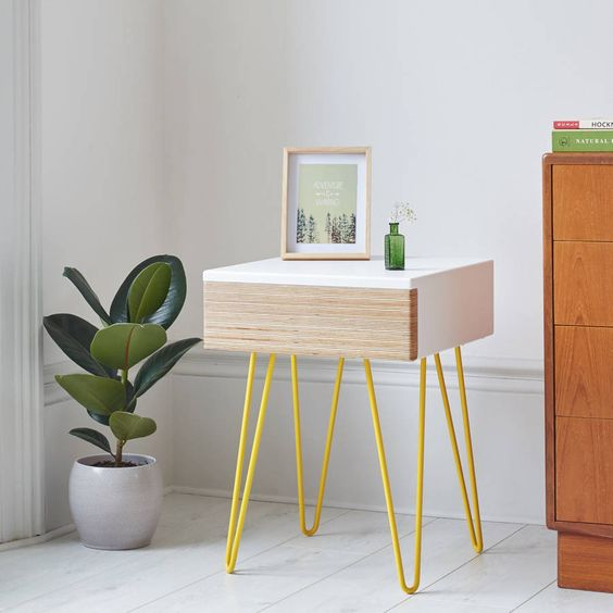 Bedside Table Projects 66 - DIY up-cycling project: How to make your own bedside tables