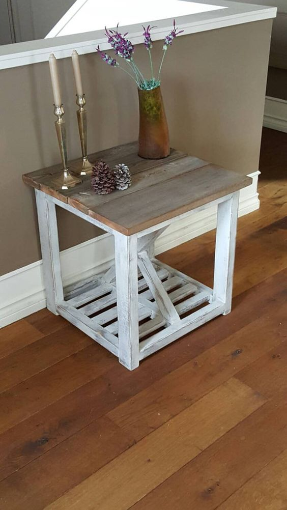 Bedside Table Projects 69 - DIY up-cycling project: How to make your own bedside tables