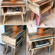 Bedside Table Projects 72 214x214 - DIY up-cycling project: How to make your own bedside tables