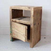 Bedside Table Projects 75 214x214 - DIY up-cycling project: How to make your own bedside tables