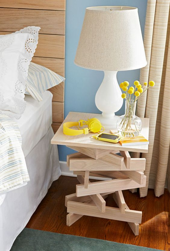 Bedside Table Projects 78 - DIY up-cycling project: How to make your own bedside tables