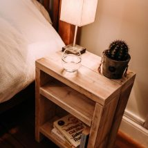Bedside Table Projects 81 214x214 - DIY up-cycling project: How to make your own bedside tables