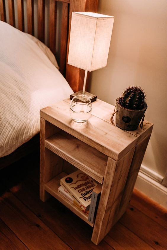 Bedside Table Projects 81 - DIY up-cycling project: How to make your own bedside tables