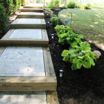Concrete Steps For Gardens