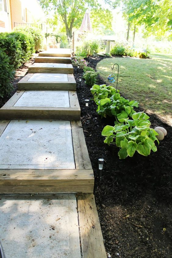 Concrete Steps For Gardens 1 - Concrete Steps For Gardens