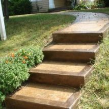 Concrete Steps For Gardens 23 214x214 - Concrete Steps for Gardens