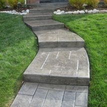 Concrete Steps For Gardens 7 214x214 - Concrete Steps for Gardens