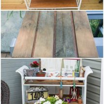 Crazy Repurposed Furniture Ideas 12 214x214 - Crazy Repurposed Furniture Ideas
