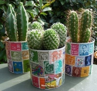 Decoupage Tin Can Planters 15 - Amazing Ideas To Decoupage Tin Can Planters