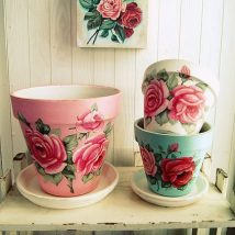 Decoupage Tin Can Planters 20 214x214 - Amazing ideas to Decoupage Tin Can Planters