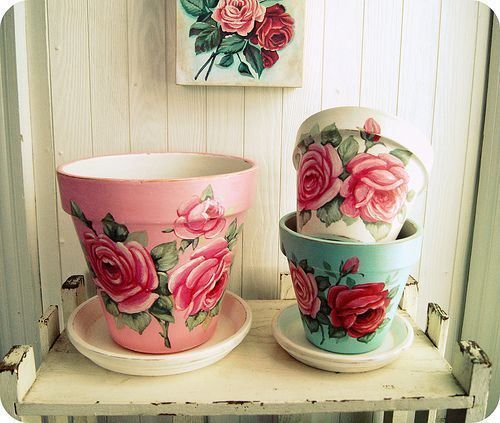 Decoupage Tin Can Planters 20 - Amazing Ideas To Decoupage Tin Can Planters
