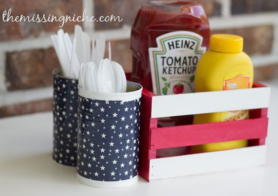 Decoupage Tin Can Planters 21 - Amazing Ideas To Decoupage Tin Can Planters