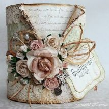 Decoupage Tin Can Planters 23 214x214 - Amazing ideas to Decoupage Tin Can Planters