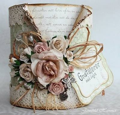 Decoupage Tin Can Planters 23 - Amazing Ideas To Decoupage Tin Can Planters