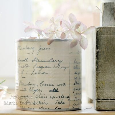Decoupage Tin Can Planters 30 - Amazing Ideas To Decoupage Tin Can Planters