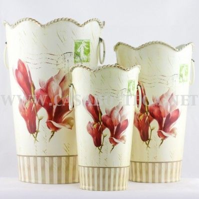 Decoupage Tin Can Planters 35 - Amazing Ideas To Decoupage Tin Can Planters