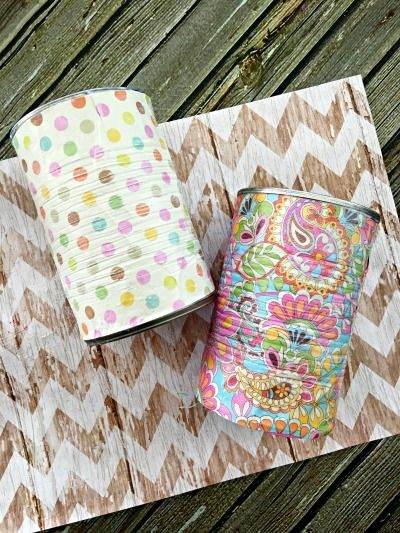 Decoupage Tin Can Planters 36 - Amazing Ideas To Decoupage Tin Can Planters