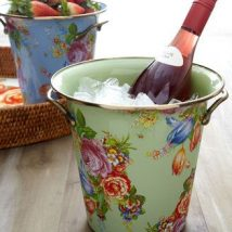 Decoupage Tin Can Planters 39 214x214 - Amazing ideas to Decoupage Tin Can Planters