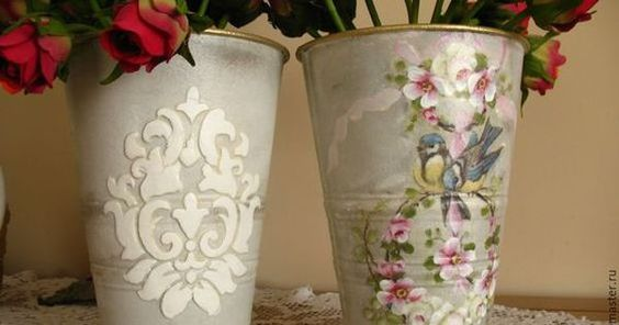 Decoupage Tin Can Planters 42 - Amazing Ideas To Decoupage Tin Can Planters
