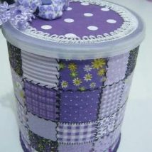 Decoupage Tin Can Planters 46 214x214 - Amazing ideas to Decoupage Tin Can Planters