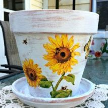 Decoupage Tin Can Planters 7 214x214 - Amazing ideas to Decoupage Tin Can Planters