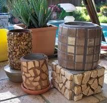 Decoupage Tin Can Planters 8 214x206 - Amazing ideas to Decoupage Tin Can Planters