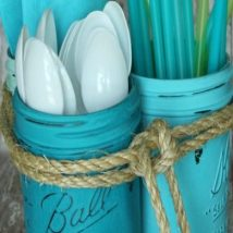 Diy Backyard Organizers 14 214x214 - More than 40 DIY Ways To Organize Your Backyard