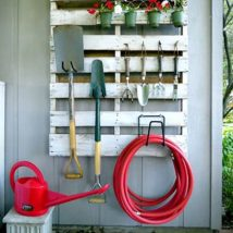 Diy Backyard Organizers 29 214x214 - More than 40 DIY Ways To Organize Your Backyard