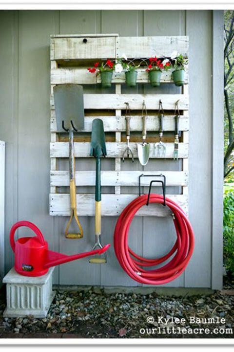 Diy Backyard Organizers 29 - More Than 40 DIY Ways To Organize Your Backyard