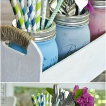 More Than 40 DIY Ways To Organize Your Backyard