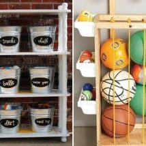 Diy Backyard Organizers 31 214x214 - More than 40 DIY Ways To Organize Your Backyard