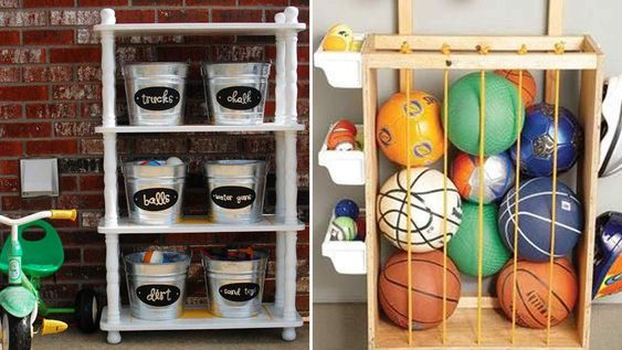 Diy Backyard Organizers 31 - More Than 40 DIY Ways To Organize Your Backyard