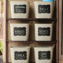 Diy Backyard Organizers 34 214x214 - More than 40 DIY Ways To Organize Your Backyard