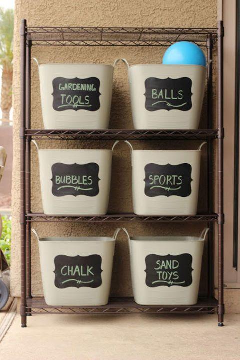 Diy Backyard Organizers 34 - More Than 40 DIY Ways To Organize Your Backyard