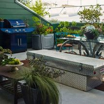 Diy Backyard Organizers 37 214x214 - More than 40 DIY Ways To Organize Your Backyard