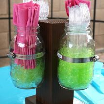 Diy Backyard Organizers 4 214x214 - More than 40 DIY Ways To Organize Your Backyard