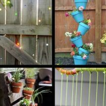 Diy Backyard Organizers 40 214x214 - More than 40 DIY Ways To Organize Your Backyard