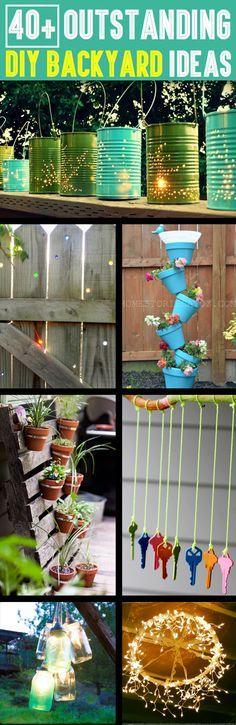 Diy Backyard Organizers 40 - More Than 40 DIY Ways To Organize Your Backyard