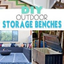 Diy Backyard Organizers 44 214x214 - More than 40 DIY Ways To Organize Your Backyard