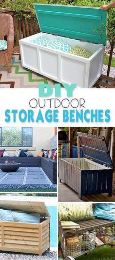 Diy Backyard Organizers 44 - More Than 40 DIY Ways To Organize Your Backyard