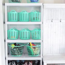 Diy Backyard Organizers 6 214x214 - More than 40 DIY Ways To Organize Your Backyard