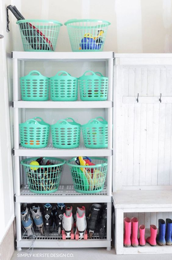 Diy Backyard Organizers 6 - More Than 40 DIY Ways To Organize Your Backyard